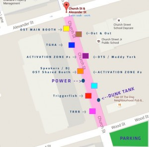 OST SportsZone 2016 Booth Map