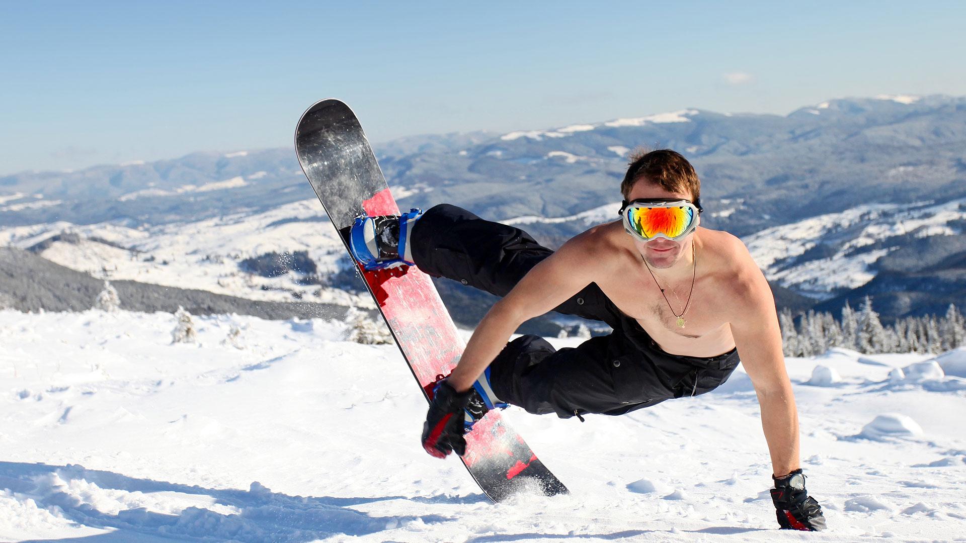 Gay skier cock